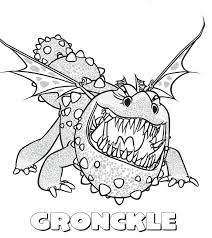 Small Picture Gronckle Sharp Teeth from How to Train Your Dragon Coloring Pages