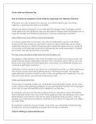 What To Put In Cover Letter What To Put In A Cover Letter For A