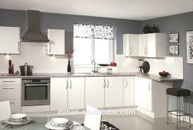 wood grain design high quality acrylic melamine kitchen cupboards white cabinet doors