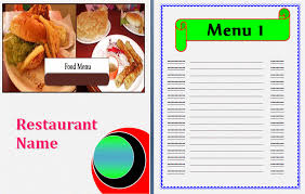 free food menu templates create a menu template rome fontanacountryinn com