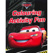 disney pixar cars colouring activity fun book children s colouring books at the works