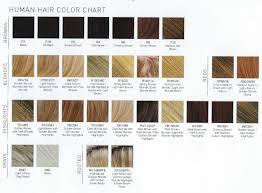 Wig Color Chart Emery By Estetica Wigs