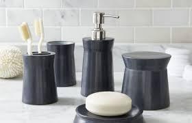 Blue And Grey Bathroom Accessories My Web Value Navy Black Gray