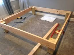 Diy bed foundation Queen Img0003jpg The Mattress Underground King Sized Deck Diy Bed Frame With Foundation For 100 The