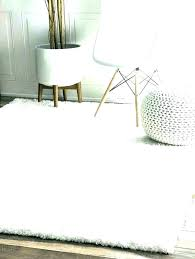 furry area rugs big white rug fuzzy fluffy large floor w