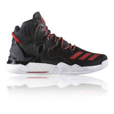 adidas shoes high tops red and black. adidas mens d rose 7 basketball shoes black red sports trainers lightweight high tops and t