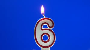 Image result for 6 years candle cake