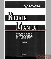 toyota forklift 8fg d gk dk shop manual auto repair manual forum toyota forklift 8fg d gk dk shop manual size 63 7mb language english type pdf pages 1108