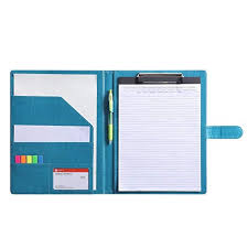 Resume For An Interview Resume Folder Clipboard Holder Letter Size A4 Legal Pad Portfolio Pad Folio Document Organizer For Interview Business Turquoise
