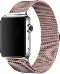 <b>Браслет Wolt для</b> Apple Watch 38/40 мм 22 см стальной (розовое ...