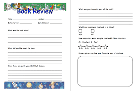 book report templates