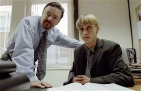 original office. The Office: Ricky Gervais And Mackenzie Crook Original Office