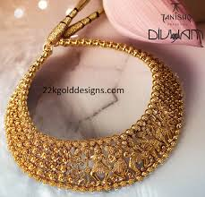 tanishq ganga collection nritya gold and diamond jewellery designs tanishq gold pendant tanishq hasli necklace design