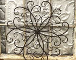 black floral pattern chrome circles classic carve white masonry wall wooden furniture decorating metal wall art on outdoor metal wall hanging with wall art best idea for metal wall art outdoor in the years outdoor