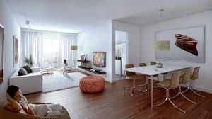 Modern Living Dining Room Living Room Minimalist Living Room And Dining Room Decoration