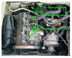 vw diesel glow plug control circuit
