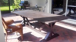 outdoor farmhouse table farmhouse patio furniture14