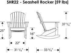 1860 Adirondack Rocking Chair Plans Outdoor Furniture Plans