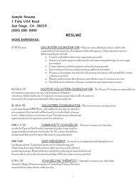 Hospice Social Worker Cover Letter Sample Cover Letter For Volunteer Work Cover Letter To Volunteer
