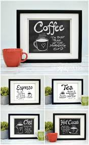 Wall Art For Kitchen Coffee Wall Art 10 Inexpensive Digital Kitchen Prints