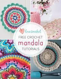 Free Crochet Mandala Pattern Inspiration Pinteresting Projects Free Crochet Mandala Patterns LoveCrochet Blog