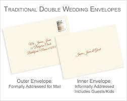 properly address pocket invitations without inner envelopes Wedding Invitation Address Protocol inner and outer wedding envelope comparison Wedding Invitation Etiquette