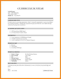 How To Write A Curriculum Vitae 24 How To Write Cv Pandora Squared 11