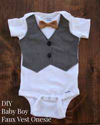 Boys Vest Pattern New Decoration
