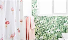 c and turquoise shower curtain fresh salmon colored shower curtain lovely interdesign doodle 55 c