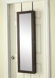 jewelry armoire over the door mirror cabinet