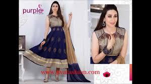 Bollywood Actress Suit Design Latest Designer Anarkali Suits Bollywood Actress Karishma