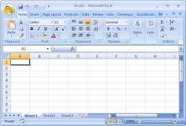 Ms Excel Ms Excel 2007 Open An Existing Workbook