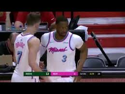 Dwyane Wade Checks in for First Time in Return to Miami Heat ...