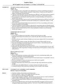 Retail Resume Skills Retail Sales Resume Skills Resume For Study