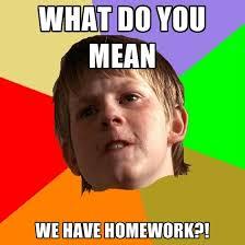Should kids have homework