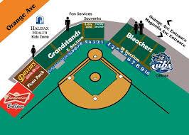 Ucf Baseball Stadium Seating Chart Jackie Robinson Ballpark Seating Chart Minor League