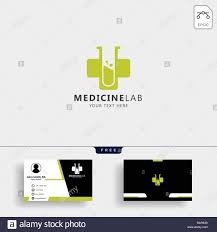 Lab Creative Designs Medicine Cross Laboratory Creative Logo Template Vector