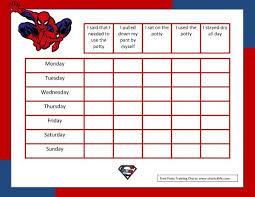 Spiderman Reward Chart Spiderman Behavior Chart Printable Www Bedowntowndaytona Com