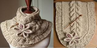 Knitted Scarf Patterns Simple A Beautiful Knit Scarf Free Pattern Wwwladylifehacks