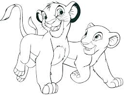 mountain lion coloring page baby lion coloring pages lion king printable coloring pages baby lion coloring