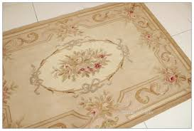 aubusson rug antique french pastel