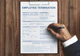 Employee Termination Form Contract Concept Stock Photo, Picture And ...