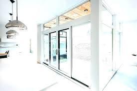 sliding doors clear glass door hardware truporte grand barn installation