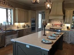 taj mahal quartzite kitchen countertops by luxury countertops