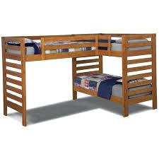 large of triple bunk bed plans l shaped diy loft