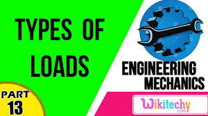 what are the different types of loads mechanical engineering what are the different types of loads mechanical engineering interview questions and answers