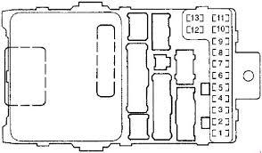 2003 Honda Accord Fuse Box Layout 94 Honda Accord Fuse Box Diagram