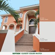Boysen Philippines Color Chart An Earthly Hue That Brings A Sense Of Inviting Warm