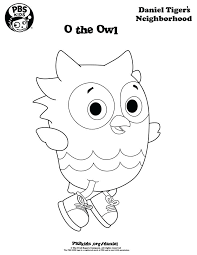 Winsome Design Free Printable Daniel Tiger Coloring Pages Page