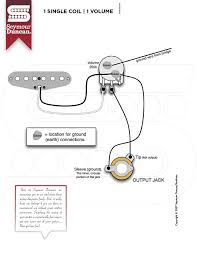guitar wiring diagram 2 humbucker 1 volume tone images humbucker guitar wiring diagrams 1 pickup cigar box